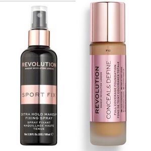 REVOLUTION FIXING SPRAY AND CONCEALER DUO - SPORT